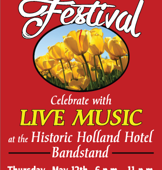 Live Music during the Tulip Festival